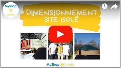 Video Dimensionnement kit solaire autonome