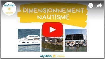 Vidéo Dimensionnement solaire pour bateau