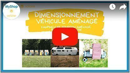 Vidéo Dimensionnement solaire pour véhicule