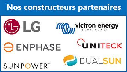 Nos constructeurs partenaires